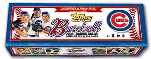 MLB Chicago Cubs 2006 Topps Baseball Cards Complete Set [Chicago Cubs] [Factory Sealed]