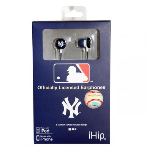 MLB New York Yankees Earphones