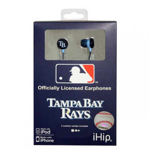 MLB Tampa Bay Rays Earphones