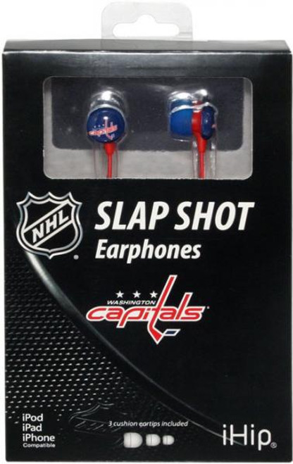 NHL Slap Shot Earphones Washington Capitals Earbuds