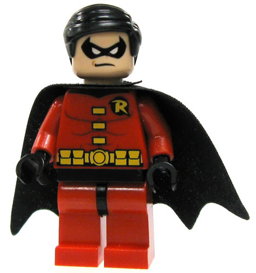 LEGO Batman Loose Robin Minifigure [Red Tights & Black Cape Loose]