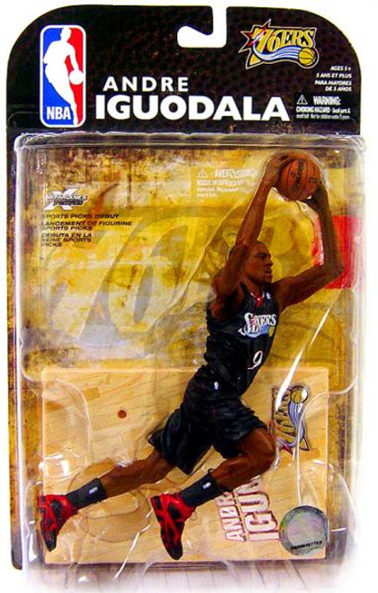 McFarlane Toys NBA Philadelphia 76ers Sports Picks Series 16 Andre Iguodala Action Figure [Damaged Package]