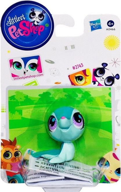 Littlest Pet Shop Seal Figure #2743 [Green]