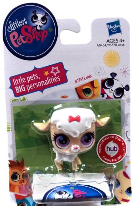 Littlest Pet Shop Lamb Figure #2741