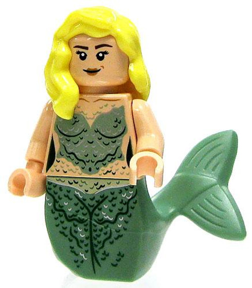 LEGO Pirates of the Caribbean Loose Mermaid Minifigure [Blonde Hair & Green Tail Loose]