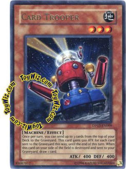 YuGiOh GX Duelist Pack Jaden Yuki 2 Ultra Rare Card Trooper DP03-EN009