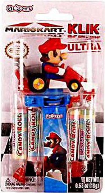 Super Mario Mario Kart 7 Klik Candy Dispenser Ultra Mario Candy