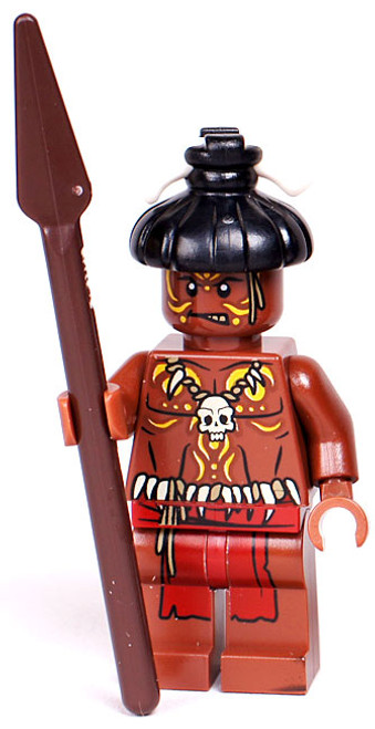 LEGO Pirates of the Caribbean Loose Cannibal #1 Minifigure [Unpainted Face Loose]