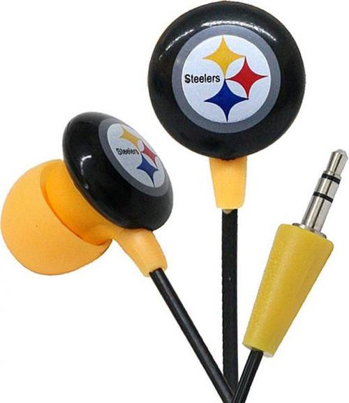 NFL Sports Earphones Pittsburgh Steelers Earbuds