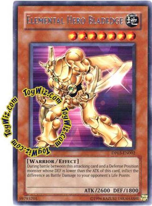 YuGiOh GX Duelist Pack Jaden Yuki 2 Rare Elemental Hero Bladedge DP03-EN002