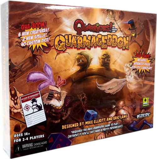 Quarriors Quarmageddon Dice Building Game Expansion