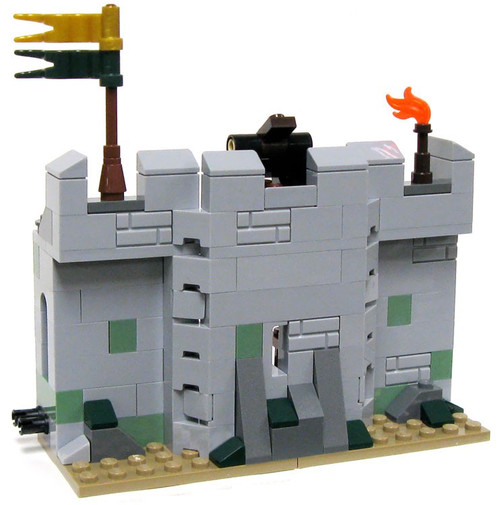 LEGO The Lord of the Rings Terrain Sets Castle Wall with Catapult [Loose]