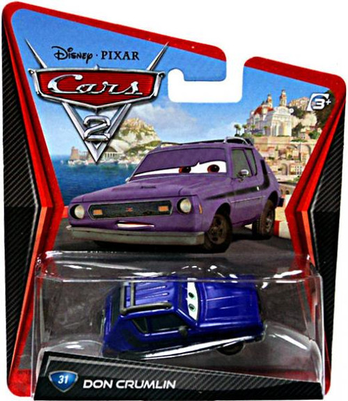 Disney Cars Cars 2 Main Series Don Crumlin Diecast Car