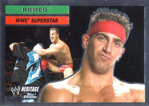 WWE Wrestling Topps Chrome 2006 WWE Heritage Superstar Romeo #55