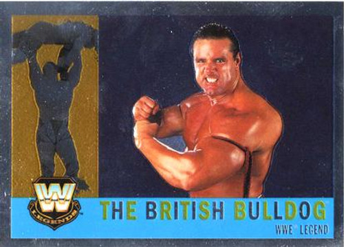 WWE Wrestling Topps Chrome 2006 WWE Heritage Legends The British Bulldog #71