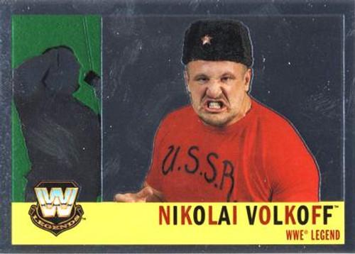 WWE Wrestling Topps Chrome 2006 WWE Heritage Legends Nikolai Volkoff #84