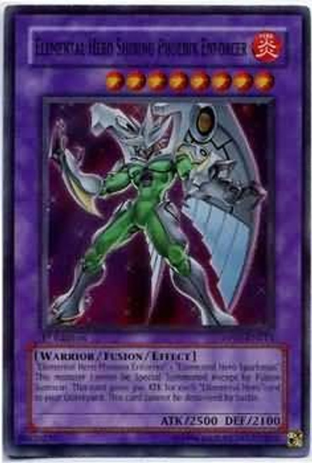YuGiOh GX Duelist Series Super Rare Elemental Hero Shining Phoenix Enforcer DP05-EN013