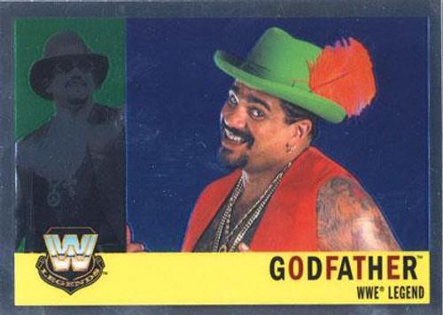 WWE Wrestling Topps Chrome 2006 WWE Heritage Legends Godfather #89