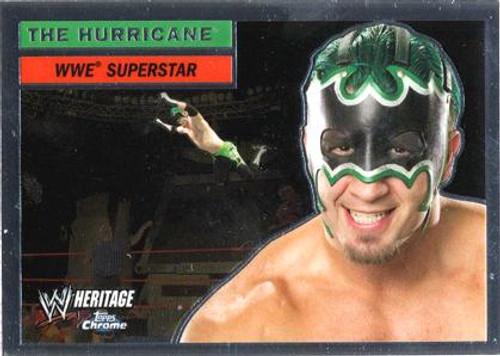 WWE Wrestling Topps Chrome 2006 WWE Heritage Superstar Hurricane #8