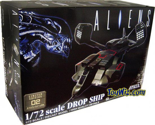 Aliens Drop Ship with Alien Queen Diecast Vehicle #02 [Limtied Edition]