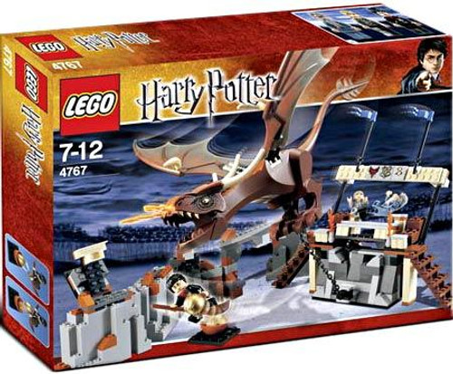LEGO Harry Potter Series 1 Goblet of Fire Harry and the Hungarian Horntail Set #4767