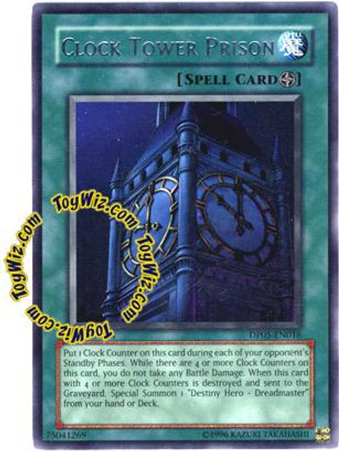 YuGiOh GX Duelist Series Rare Clock Tower Prison DP05-EN016