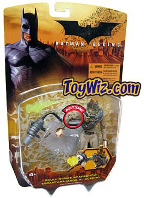 Batman Begins Scarecrow Action Figure [Skull Strike]