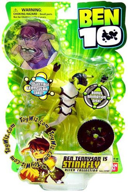 Ben 10 Alien Collection Series 1 StinkFly Action Figure
