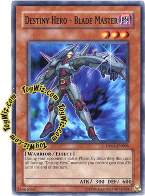 YuGiOh GX Duelist Series Common Destiny Hero - Blade Master DP05-EN008