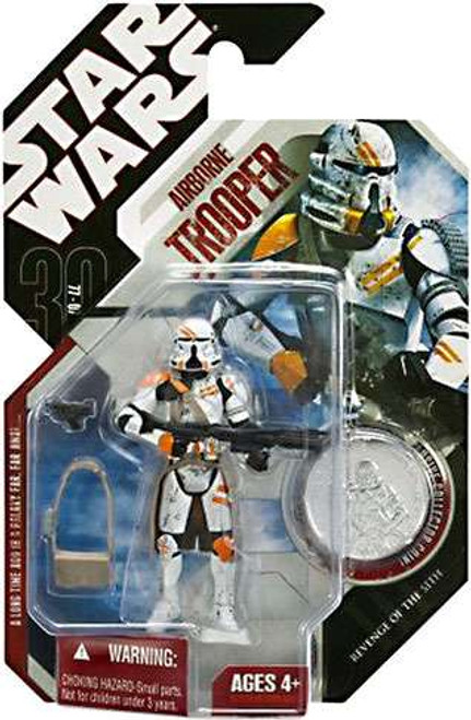 Star Wars Revenge of the Sith 30th Anniversary 2007 Wave 1 Airborne Trooper Action Figure #7 [Regular]