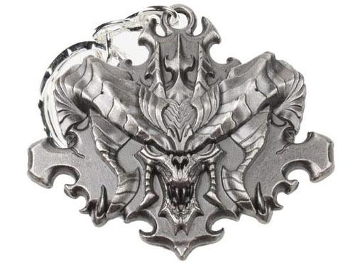 Diablo III Diablo Face Metal Keychain