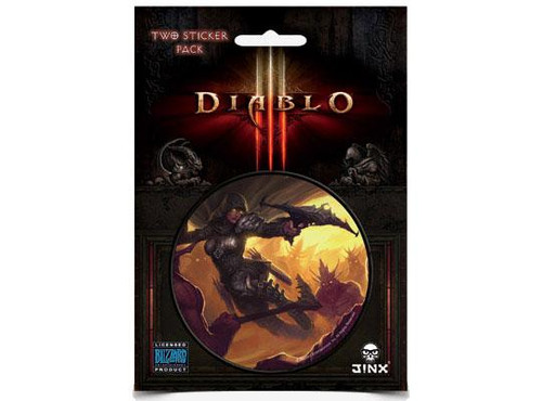 Diablo III Demon Hunter Sticker 2-Pack