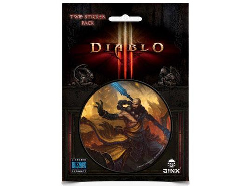 Diablo III Monk Sticker 2-Pack