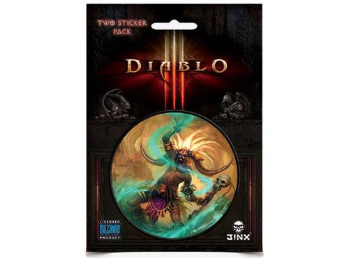 Diablo III Witch Doctor Sticker 2-Pack