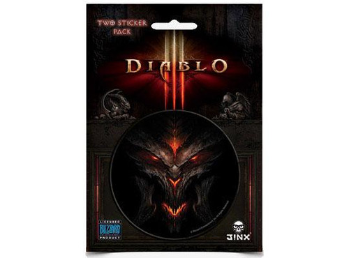 Diablo III Diablo Face Sticker 2-Pack