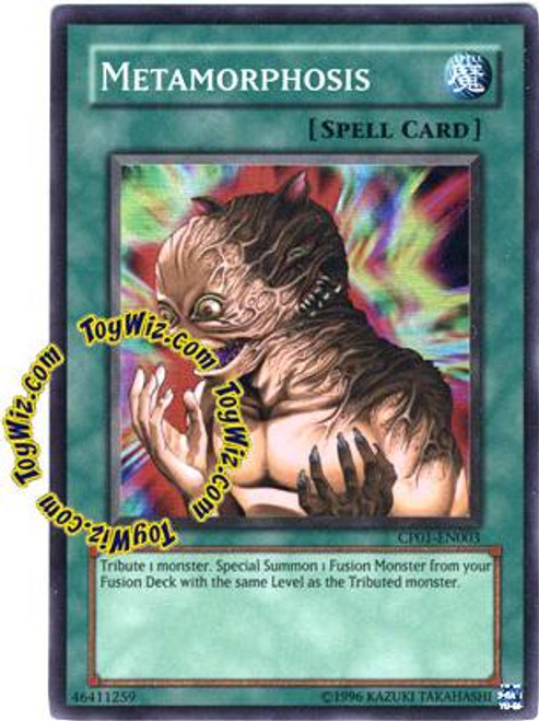 YuGiOh GX Champion Pack: Game 1 Super Rare Metamorphosis CP01-EN003