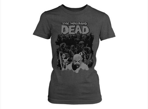 The Walking Dead Dead Herd T-Shirt [Women's Small]