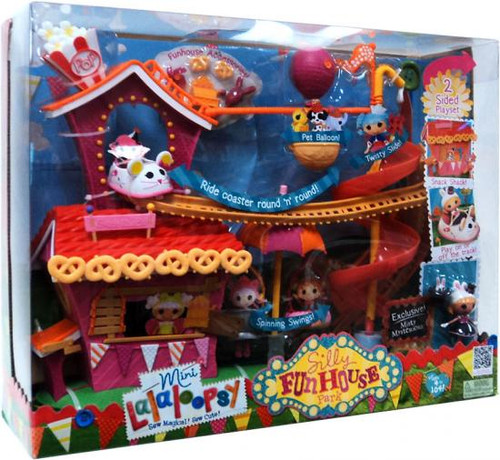 Mini Lalaloopsy Silly Funhouse Park Mini Playset