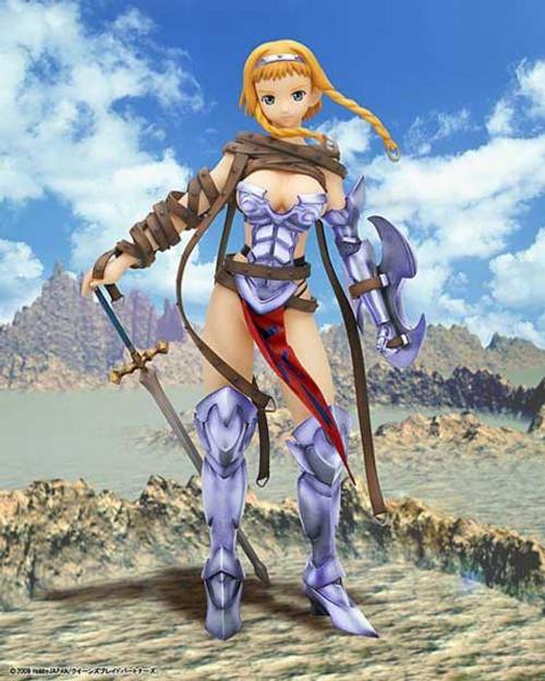 Queen's Blade Leina 1/7 Figure [Wandering Warrior]