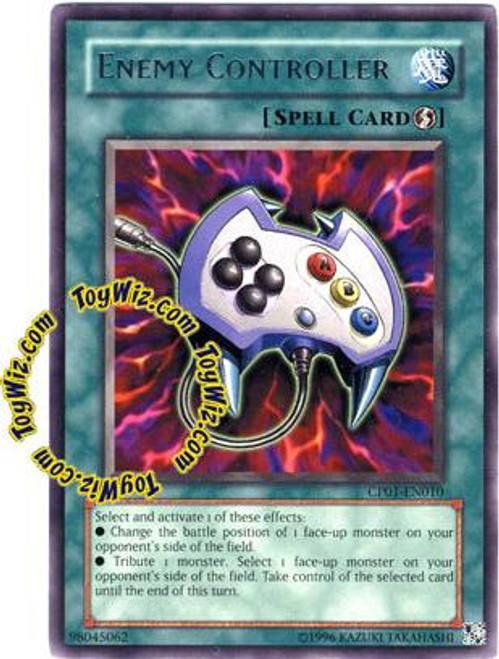 YuGiOh GX Champion Pack: Game 1 Rare Enemy Controller CP01-EN010