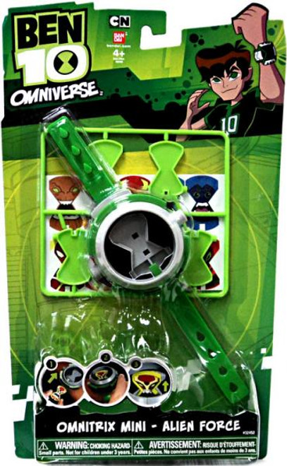 Ben 10 Omniverse Watch Omnitrix Mini Alien Force Roleplay Toy