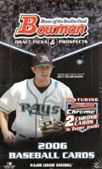 MLB 2006 Bowman Baseball Cards Draft Picks & Prospects Trading Card Box [Hobby Edition]