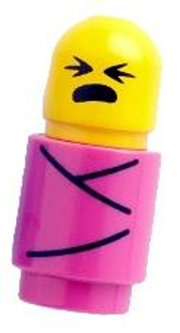 Citizen Brick Custom Painted Baby Girl Minifigure [Loose]