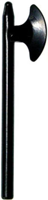 LEGO Castle Minifigure Parts Black Pole Axe Loose Weapon [Loose]