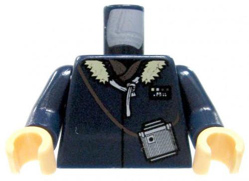 LEGO Star Wars Minifigure Parts Dark Blue Winter Coat with Fur Collar & Binoculars Loose Torso [Loose]