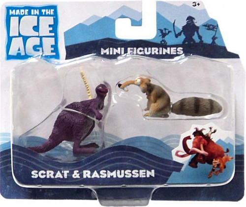 Ice Age Continental Drift Scrat & Rasmussen Mini Figure 2-Pack