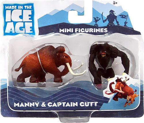 Ice Age Continental Drift Manny & Captain Gutt Mini Figure 2-Pack