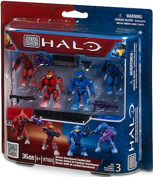 Mega Bloks Halo Versus: Snowbound Combat Unit Exclusive Set #97065