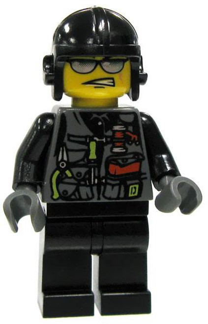 LEGO Dino Attack Loose Viper Minifigure [Loose]