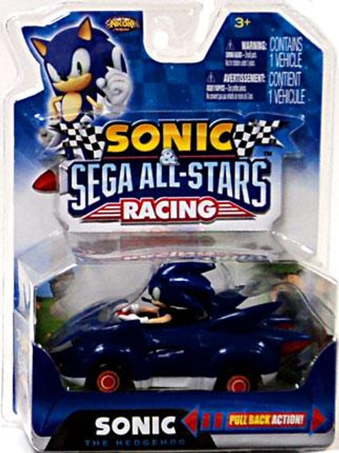 Sega All-Stars Racing Sonic the Hedgehog Pull Back Vehicle